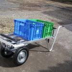 普段は荷物の移動に使用できます。